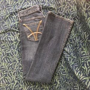 Kut from the Kloth Felicia baby-bootcut jeans.